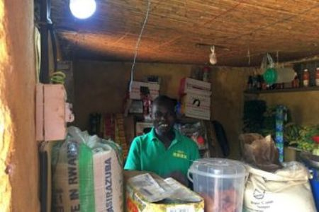 Absolute Energy with support of EnDev successfully installed a solar hybrid mini-grid