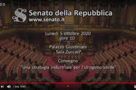 """Online le presentazioni del convegno """"Una strategia industriale per l'idrogeno verde"""""""